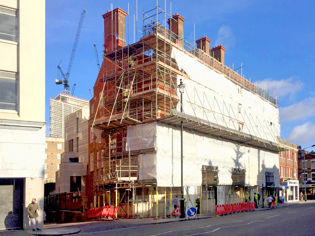 WFS-scaffolded-building